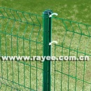 PVC coated wire panel